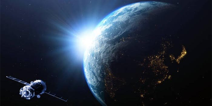 Broadcasting satellites having digital PCB