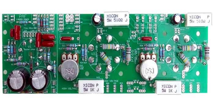 Guitar Amp PCB Components