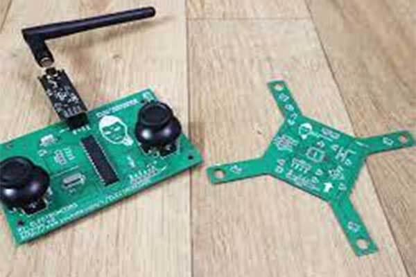 Fabrication Process of the Drone PCB