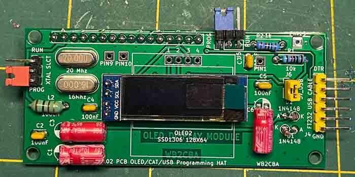 Effective OLED Display Module