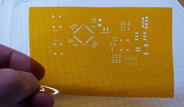 Kapton PCB Solder Paste Stencil