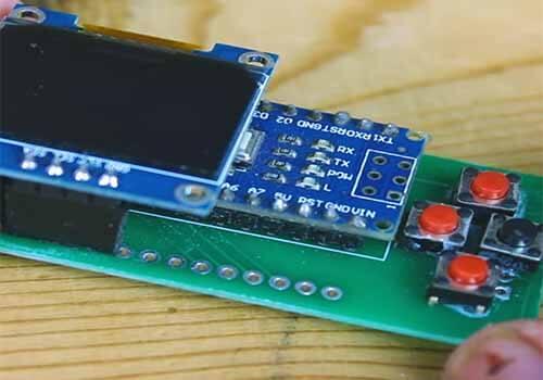 Arduino OLED PCB