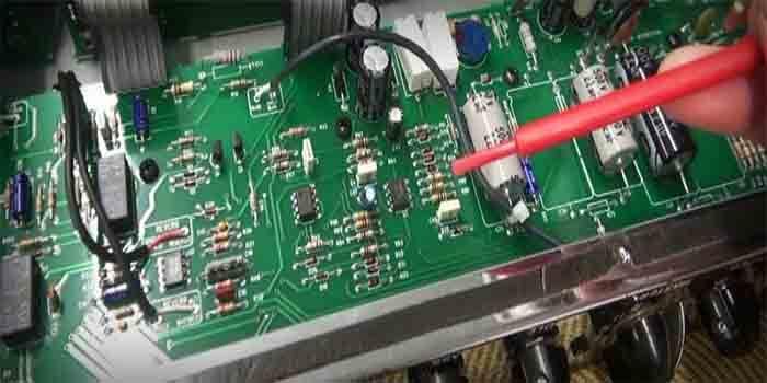 Guitar Amplifier Tuning Through PCB