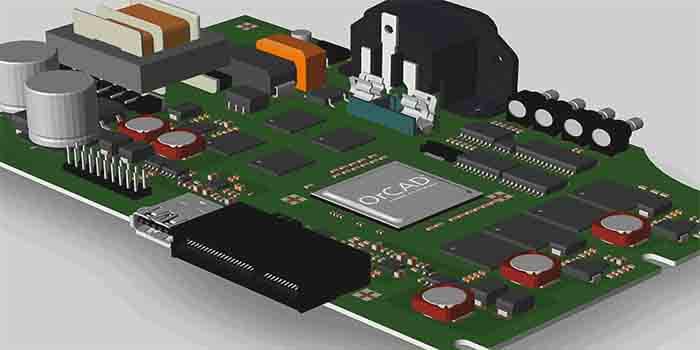 OrCAD designer PCB