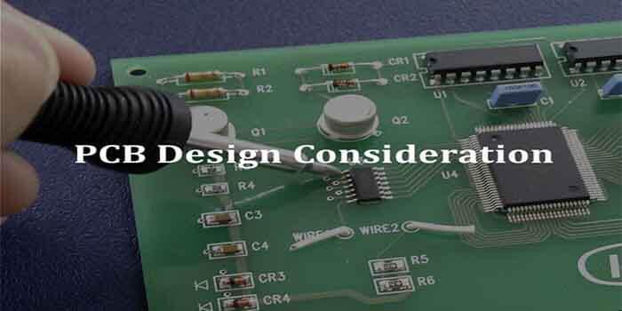 PCB Design Consideration