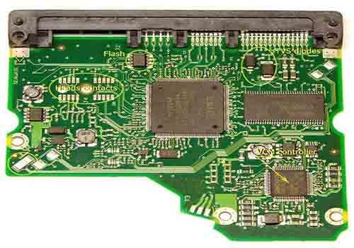 Customized Hard Disk PCB