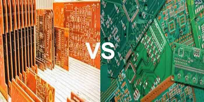 Orange PCB Vs Green PCB