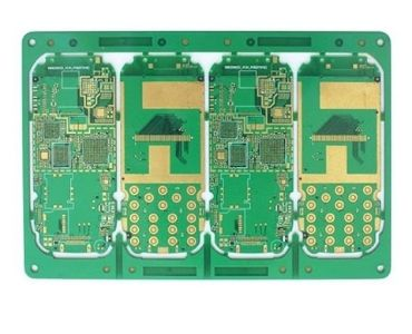 Gold Plated Microvia PCB