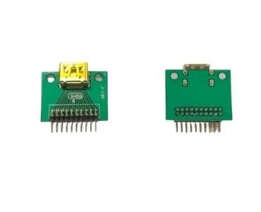 HDMI 19Pin Double Side PCB
