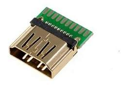 HDMI Connector Female PCB Mount 1.6MM