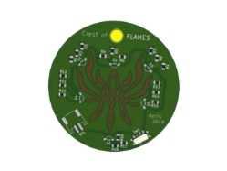 Negative Copper Kicad PCB