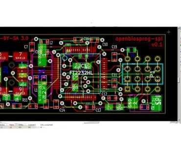 Openbiosprog-Spi PCB Kicad 0.1