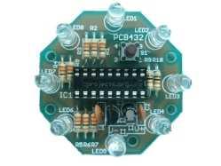 UFO Round LED Chaser Kit