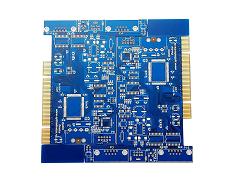 Blue Solder Blank PCB