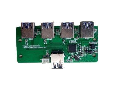 Double-sided USB Hub PCB